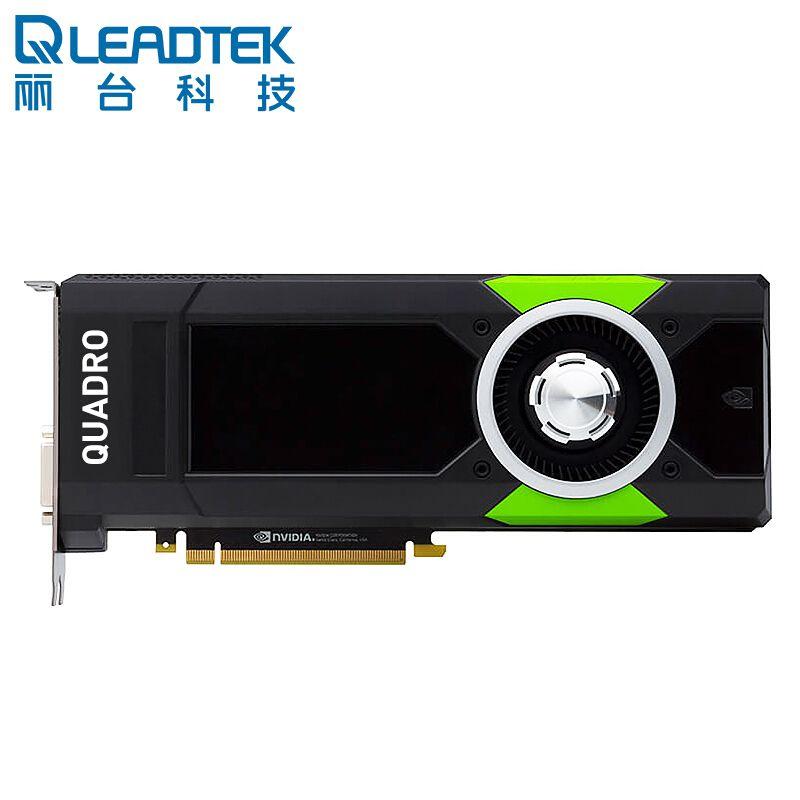 丽台 NVIDIA Quadro P5000 16GB GDDR5X GPU显卡